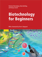 Image of the book cover for 'BIOTECHNOLOGY FOR BEGINNERS'