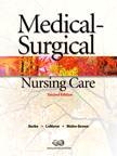 Image of the book cover for 'MEDICAL-SURGICAL NURSING CARE'