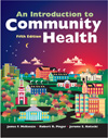 Image of the book cover for 'AN INTRODUCTION TO COMMUNITY HEALTH'
