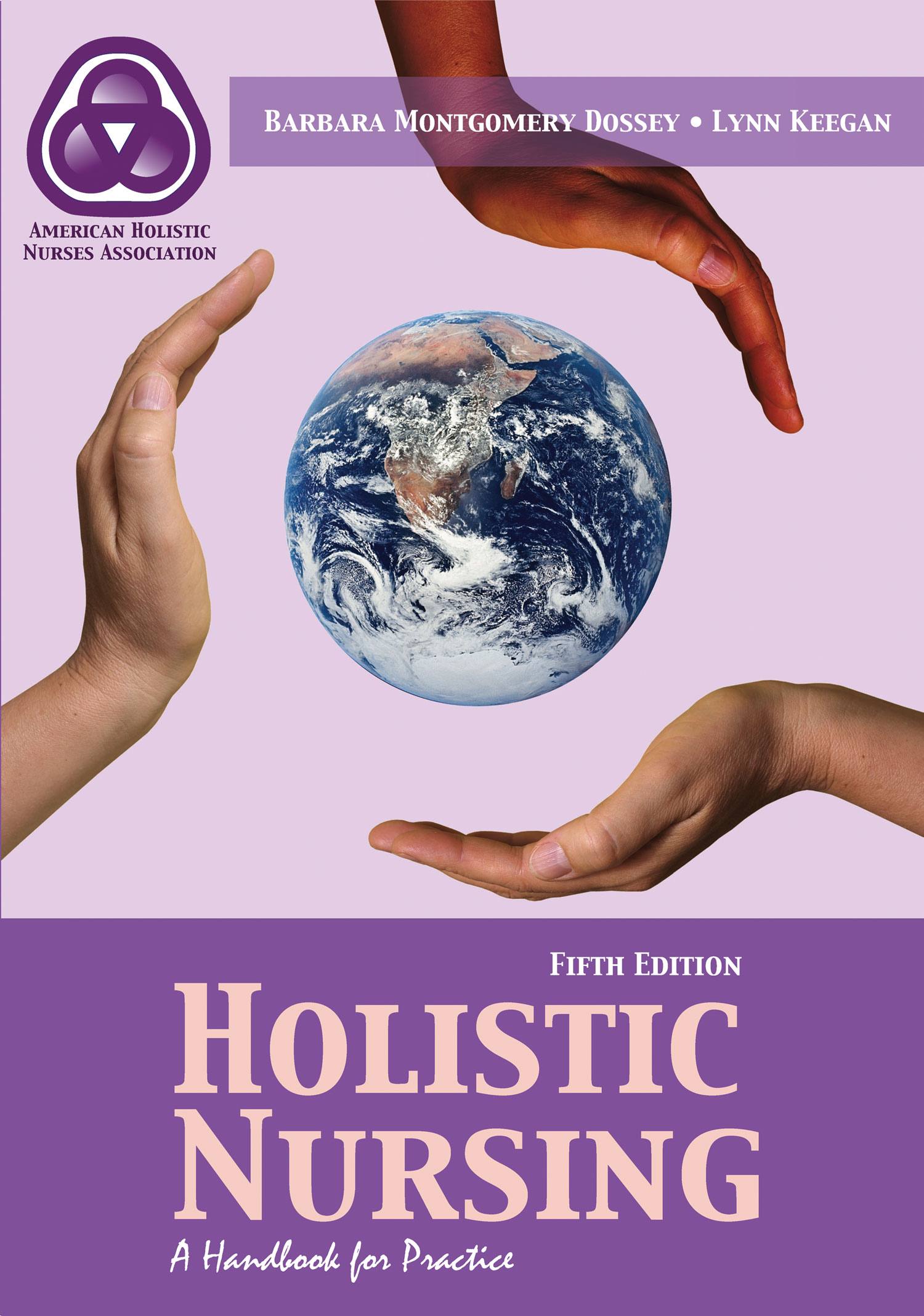 Image of the book cover for 'HOLISTIC NURSING'