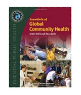Image of the book cover for 'ESSENTIALS OF GLOBAL COMMUNITY HEALTH'