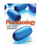 Image of the book cover for 'PHARMACOLOGY CASE STUDY WORKBOOK'