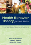 Image of the book cover for 'HEALTH BEHAVIOR THEORY FOR PUBLIC HEALTH'