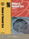 Image of the book cover for 'MANUAL OF NEONATAL CARE'