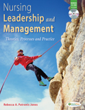 Image of the book cover for 'NURSING LEADERSHIP AND MANAGEMENT'