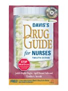 Image of the book cover for 'DAVIS'S DRUG GUIDE FOR NURSES'