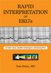 Image of the book cover for 'RAPID INTERPRETATION OF EKG'S'