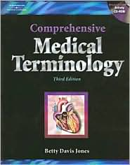 Image of the book cover for 'COMPREHENSIVE MEDICAL TERMINOLOGY'