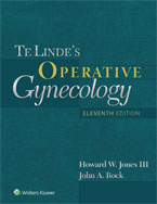 Image of the book cover for 'Te Linde's Operative Gynecology'