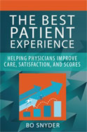 Image of the book cover for 'THE BEST PATIENT EXPERIENCE'