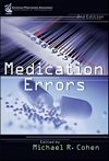 Image of the book cover for 'MEDICATION ERRORS'