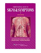 Image of the book cover for 'PROFESSIONAL GUIDE TO SIGNS & SYMPTOMS'