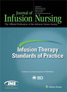 Image of the book cover for 'Infusion Therapy Standards of Practice 2016'