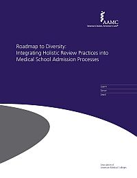 Image of the book cover for 'Roadmap To Diversity: Integrating Holistic Review Practices Into Medical School Admission Processes'