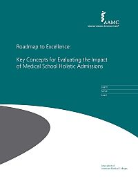 Image of the book cover for 'Roadmap to Excellence: Key Concepts for Evaluating the Impact of Medical School Holistic Admissions '