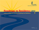 Image of the book cover for 'Roadmap to Residency 2017'