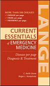 Image of the book cover for 'CURRENT ESSENTIALS OF EMERGENCY MEDICINE'