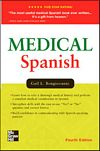 Image of the book cover for 'MEDICAL SPANISH'