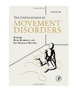 Image of the book cover for 'Encyclopedia of Movement Disorders'