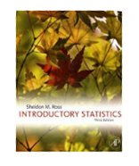 Image of the book cover for 'Introductory Statistics'
