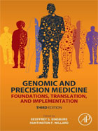 Image of the book cover for 'Genomic and Precision Medicine'