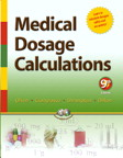 Image of the book cover for 'Medical Dosage Calculations'