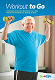 Image of the book cover for 'Workout To Go'