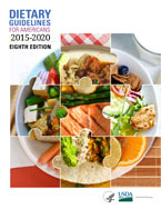 Image of the book cover for 'Dietary Guidelines for Americans 2015-2020'
