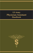 Image of the book cover for 'US Army Physician Assistant Handbook'