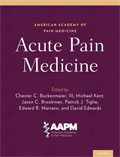 Image of the book cover for 'Acute Pain Medicine'