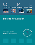 Image of the book cover for 'Suicide Prevention'