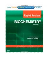 Image of the book cover for 'RAPID REVIEW: BIOCHEMISTRY'