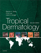 Image of the book cover for 'Tropical Dermatology'