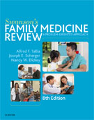 Image of the book cover for 'Swanson's Family Medicine Review'