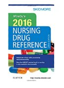 Image of the book cover for 'Mosby's 2016 Nursing Drug Reference'
