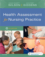 Image of the book cover for 'Health Assessment for Nursing Practice'
