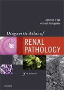 Image of the book cover for 'Diagnostic Atlas of Renal Pathology'