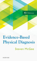 Image of the book cover for 'Evidence-Based Physical Diagnosis'