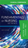 Image of the book cover for 'Clinical Companion for Fundamentals of Nursing'