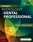 Image of the book cover for 'Frommer's Radiology for the Dental Professional'
