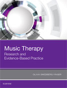 Image of the book cover for 'Music Therapy'