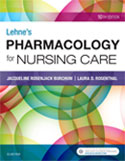 Image of the book cover for 'Lehne's Pharmacology for Nursing Care'