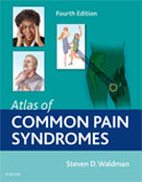 Image of the book cover for 'Atlas of Common Pain Syndromes'