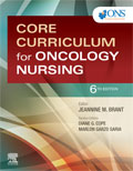 Image of the book cover for 'Core Curriculum for Oncology Nursing'