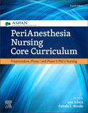 Image of the book cover for 'PeriAnesthesia Nursing Core Curriculum'