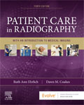 Image of the book cover for 'Patient Care in Radiography'