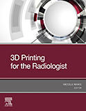 Image of the book cover for '3D Printing for the Radiologist'