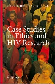 Image of the book cover for 'Case Studies in Ethics and HIV Research'