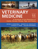 Image of the book cover for 'Veterinary Medicine'