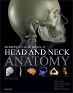 Image of the book cover for 'McMinn's Color Atlas of Head and Neck Anatomy'